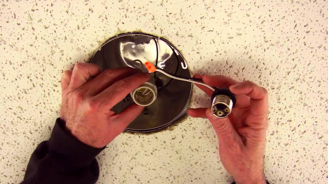 How to install LED recessed lighting retrofit trim for 5\