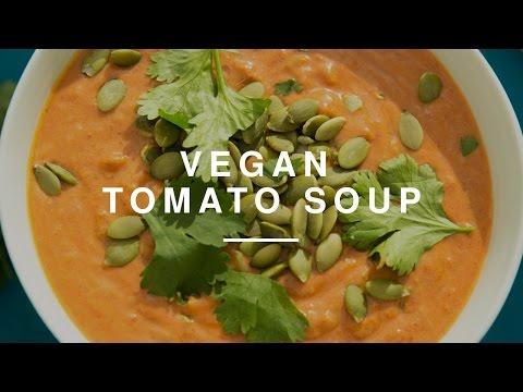 The Best Vegan Spicy Tomato Soup w Tim Shieff | Madeleine Shaw | Wild Dish