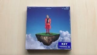 ♡Unboxing Key 키 1st Album Repackage I Wanna Be 아이 워너 비♡