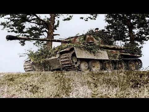 WWII 1 Hour Version Open Field Wind Artillerie Distance Fire Gun Shots