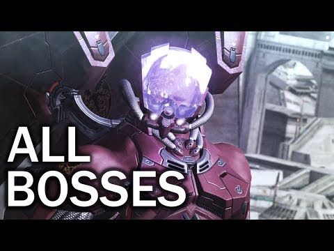 Vanquish: All Bosses and Ending (4K 60fps)