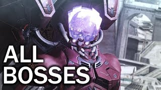 Vanquish: All Bosses and Ending (4K 60fps)