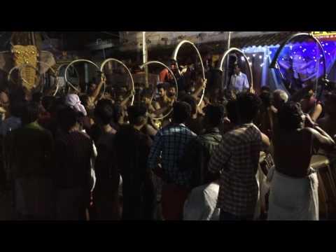 Attam Panchari  Melam Performance 2015  Night View  - IMG 7373