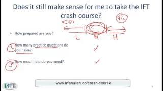 Level I CFA Crash Course and Advice