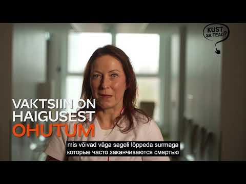 Ruth Kalda - Kumb on ohutum - vaktsiin või haigus?
