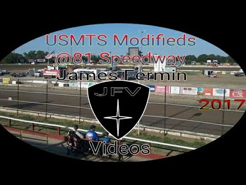 USMTS Modifieds #25 Part 1, Feature, 81 Speedway, 2017
