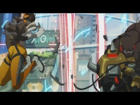 Overwatch Animated Short Movie (New Hero DOOMFIST) All Cutscenes