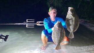 FISH GIGGIN FOR BARRACUDA , FLOUNDER and SHEEPSHEAD
