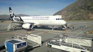 Queenstown Airport - Airbus A320 Turn Around thumbnail