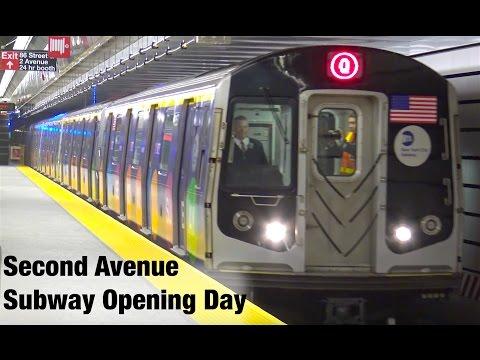 ⁴ᴷ Second Avenue Subway  Day