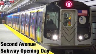 ⁴ᴷ Second Avenue Subway Opening Day