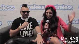 Yahoo Wireless Festival 2014 - Sean Paul Interview (@duttypaul): Media Spotlight UK thumbnail