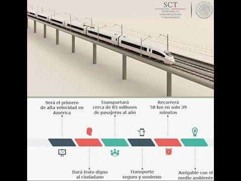 TREN INTERURBANO, ASI SERA EL RECORRIDO DEL TREN MEXICO TOLUCA