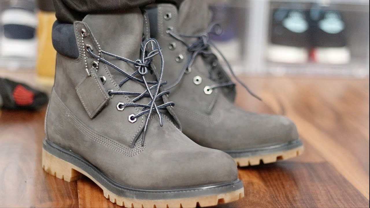 4abd076b68b How to Style Timberland Boots w On Foot - YouTube