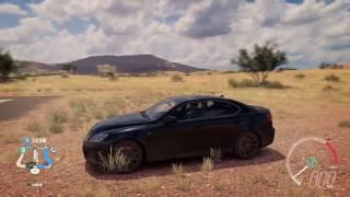 2009 Lexus IS F - Speed Jump Crash Test - Forza Horizon 3 - 1440p 60fps