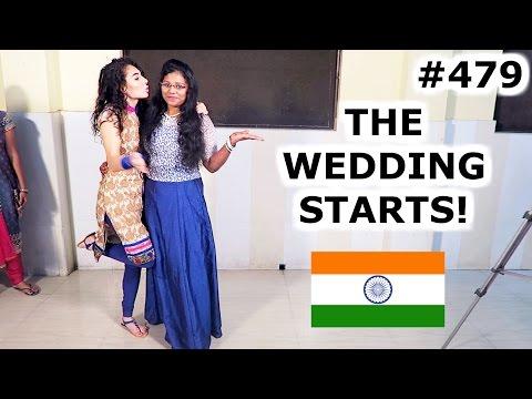 INDIAN WEDDING AND BOLLYWOOD DANCING | KOCHI DAY 479 | INDIA | TRAVEL VLOG IV