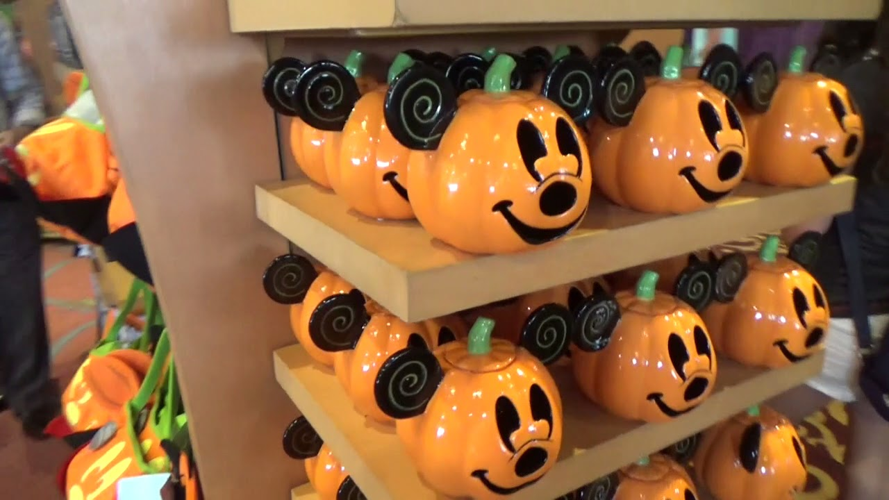halloween merchandise at disney! august 18, 2017 - youtube