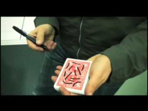 Identity - Richard Sanders - NEW card trick