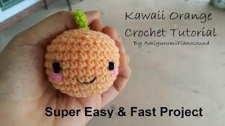 Easy Orange Crochet Tutorial