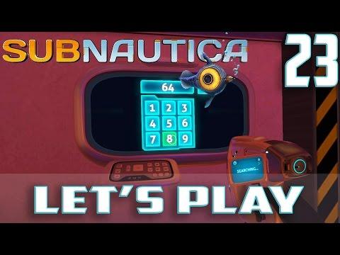 subnautica коды к дверям авроры