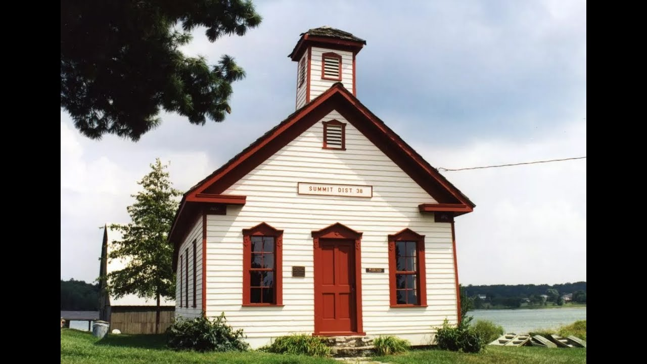 What Students Experience In A One Room School House - YouTube Old One Room School Building