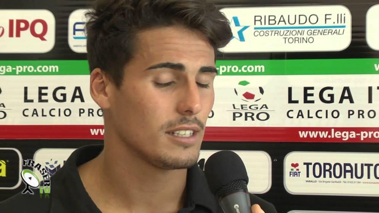 PRO VERCELLI: Francesco ARDIZZONE dopo partita - YouTube