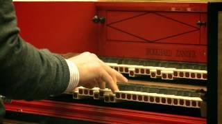 Mahan Esfahani - J.S. Bach: Concerto for Harpsichord No. 1 in D Major (excerpt)