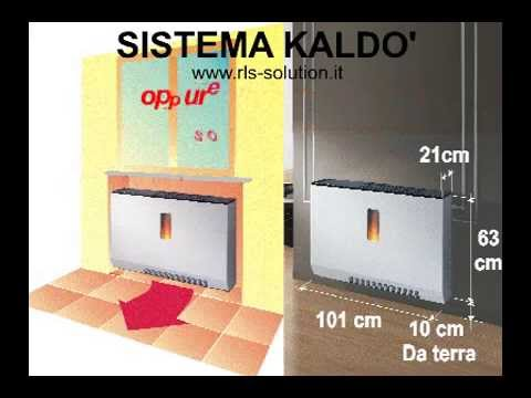 Stufa a pellet nuovo sistema di riscaldamento con flusso - Stufa a pellet per termosifoni ...
