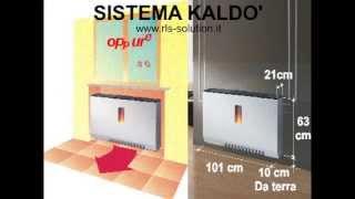 STUFA  A PELLET - NUOVO SISTEMA DI RISCALDAMENTO CON FLUSSO AD ARIA A PAVIMENTO.mp4