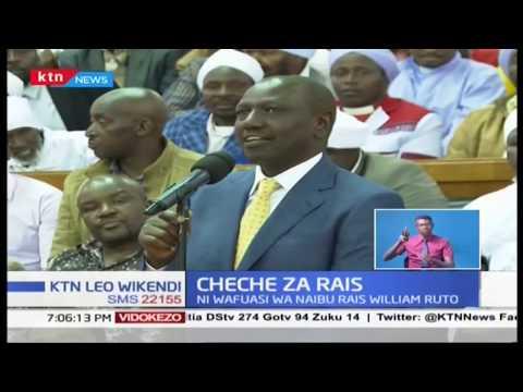 Rais Kenyatta awakemea wafuasi wa Naibu Rais Ruto kutoka mlima Kenya kwa kufanya kampeni za mapema