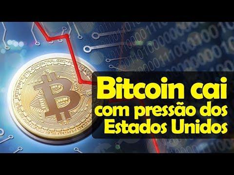 Bitcoin E Criptomoedas Caem Com Pressão Dos Estados Unidos