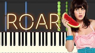 Roar - Katy Perry (Piano Tutorial Synthesia)