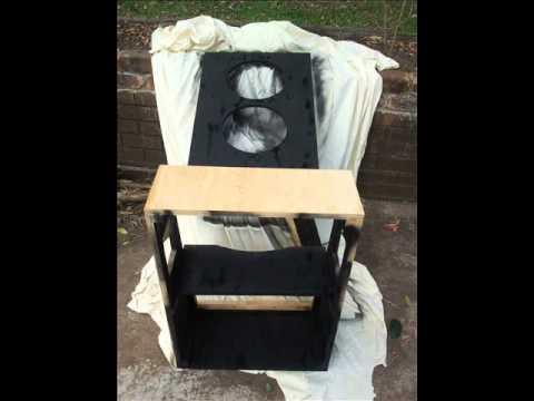 2x12 slant guitar speaker cab build youtube. Black Bedroom Furniture Sets. Home Design Ideas
