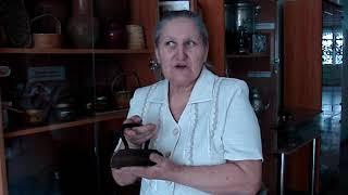 Елизавета Егорова рассказывает о старинном утюге
