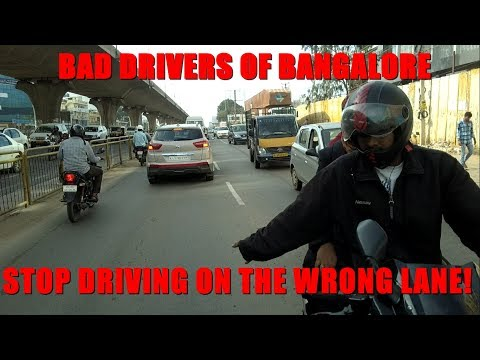 Bangalore - Watch what happens when I questioned this moron | Reckless Driving