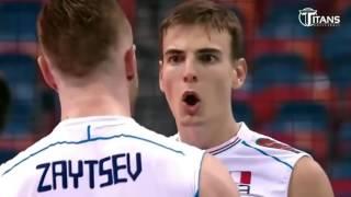 Лучшие моменты волейбола