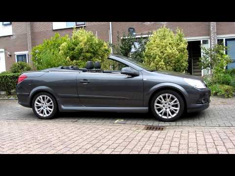 Open And Closing Roof Opel Astra CC