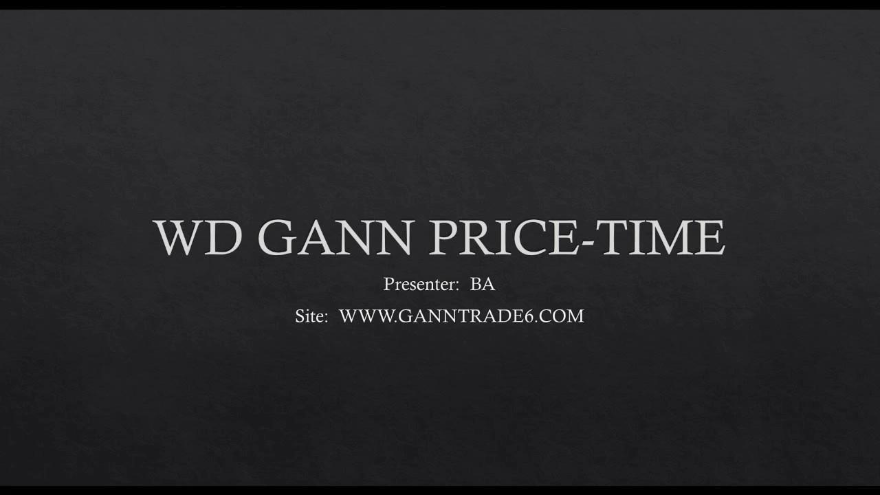 WD GANN PRICE TIME by Gann Trade
