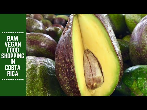 Raw Vegan Food Shopping in Costa Rica: Downtown and Farmer's Market