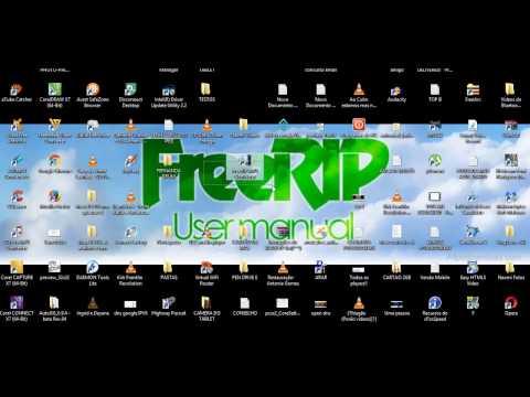 Convertendo Com FreeRip  (CD Para MP3)
