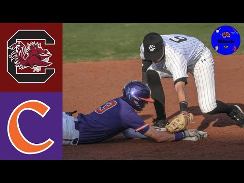 Download #16 South Carolina vs #22 Clemson Highlights (Extra Innings!)   2021 College Baseball Highlights