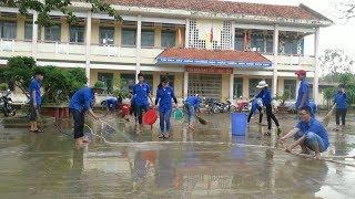 Tin Tức 24h : Tuổi trẻ Bình Định chung tay khắc phục hậu quả bão lũ