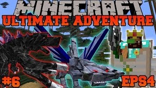 Minecraft: Ultimate Adventure - EPIC WALKER KING BATTLE! - EPS4 Ep. 6 - Let's Play Modded Survival