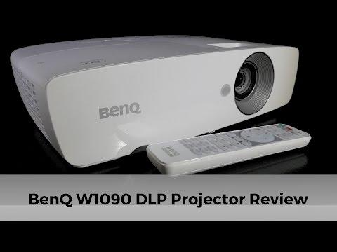 BenQ W1090 Single-chip 1080p DLP Projector Review