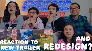 SONIC THE HEDGEHOG - NEW OFFICIAL TRAILER || MAJELIV REACTION 2019