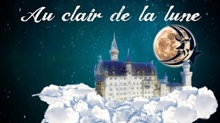 Au clair de la lune (instrumental - lyrics video for karaoke)