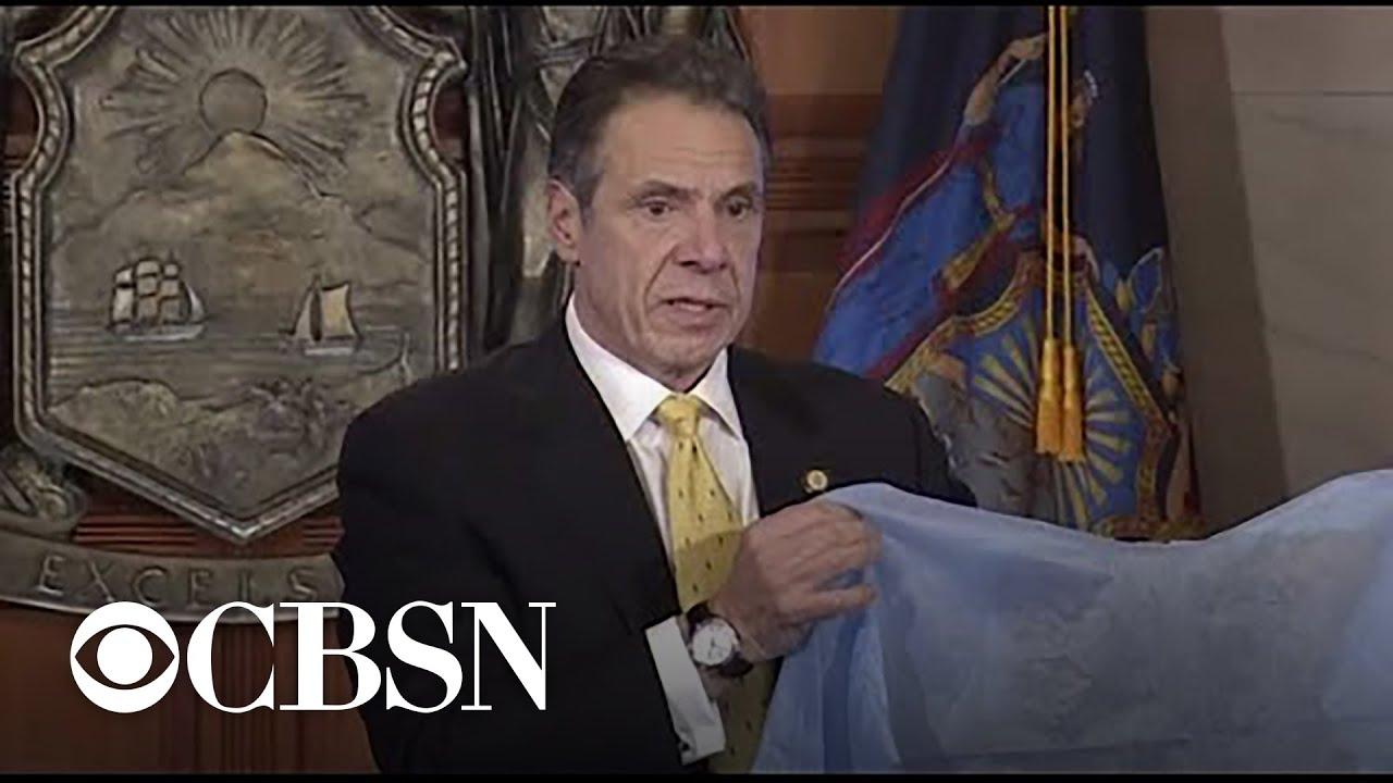 New York Governor Cuomo announces highest coronavirus death toll yet