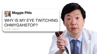 Ken Jeong Answers Medical Questions From Twitter | Tech Support | WIRED thumbnail