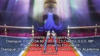 Medaka Box EP 1 Legendado PT BR めだかボックス アブノーマル 検索動画 1