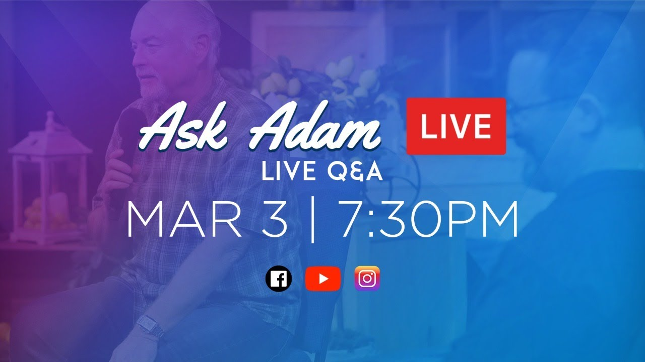 Ask Adam - Promises In The Bible | 3.3 Wed (Full Service)